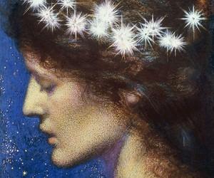 edward robert hughes, night, and art image