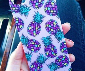 pineapple and iphone case image