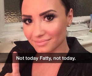 aesthetic, demi lovato, and fatty image