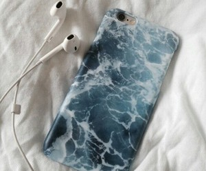iphone, sea, and case image