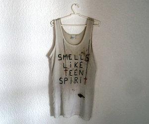 nirvana, shirt, and smells like teen spirit image