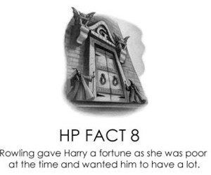 curiosities, harry potter, and facts image