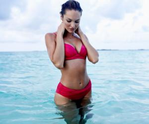 candice swanepoel, model, and bikini image