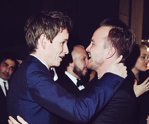 eddie redmayne and aaron paul image