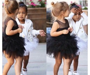 north west, baby, and kim kardashian image