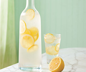 lemon, lemonade, and water image