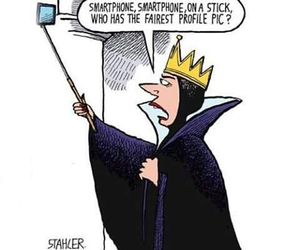 funny, smartphone, and selfie image