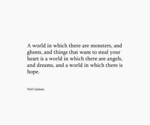 angels, hope, and Neil Gaiman image