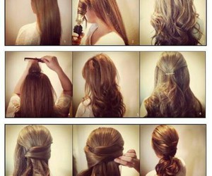 hair, hairstyle, and amazing image