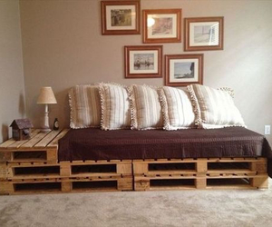 home, muebles, and pallets image