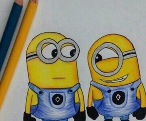 minions, art, and draw image