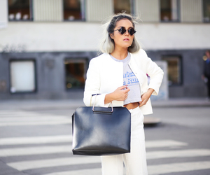 outfit, fashion, and white image