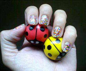 ball, colorful, and dots image