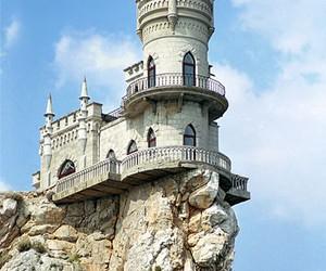 castle, ukraine, and crimea image