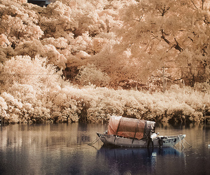 boat, photography, and nature image
