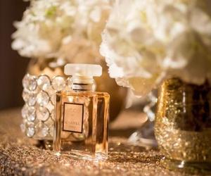 chanel, model, and perfume image