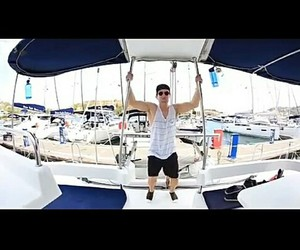 boat, muscle, and big time rush image