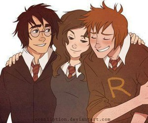 art, harry potter, and friends image