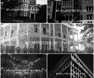 ahs, asylum, and coven image