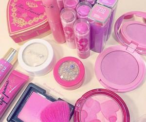 cosmetics, girly, and makeup image