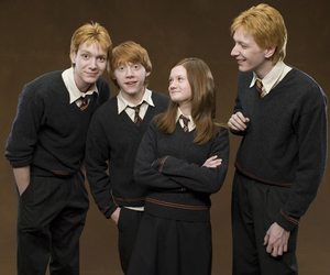 harry potter, weasley, and ginny weasley image