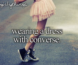 dress and converse image