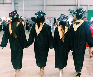 friendship, graduation, and friends image