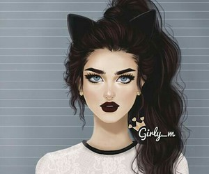 black and girly_m image