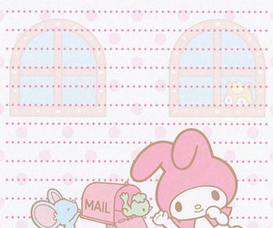 memo, my melody, and sanrio image