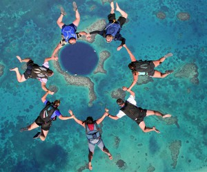 Dream, skydiving, and squad goals image