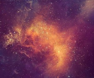 space, beautiful, and galaxy image