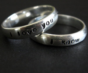 love, rings, and I Love You image