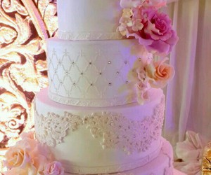 cake, pink, and 15 years image