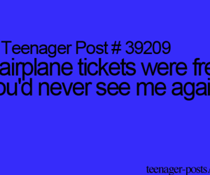 tickets and teenager post image