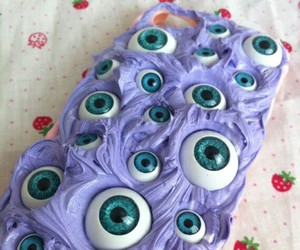 eyeball and iphone cases image