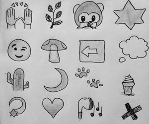 art, emoji, and doodle image
