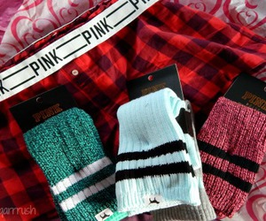 socks, fashion, and flannel image