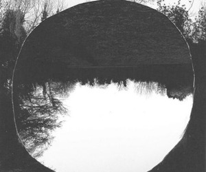 real, black and white, and grunge image