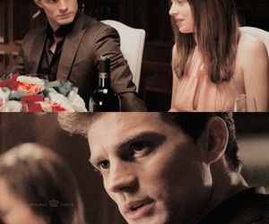 couple, christian grey, and fifty shades of grey image