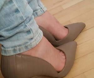 high heels, shoes, and Zara image
