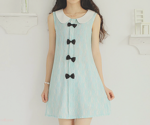 cute, dress, and kfashion image