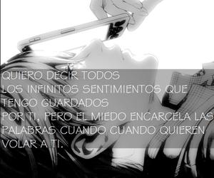 amor, blanco y negro, and frase image