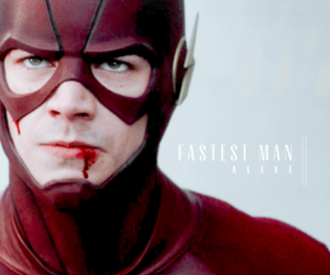 barry allen and the flash image