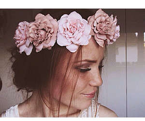 accessories, fashion, and flower crown image