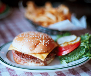 burger, eat, and food image