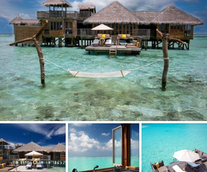 luxury, ocean, and tropical image