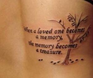 death, life, and tattoo image