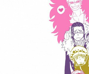 one piece, monkey d luffy, and crocodile image