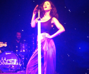 marina and the diamonds, marina diamandis, and neon nature tour image