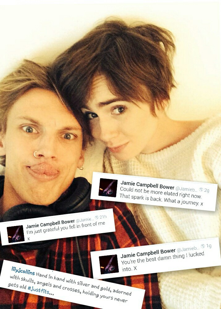 j, Jamie Campbell Bower, and twitter image